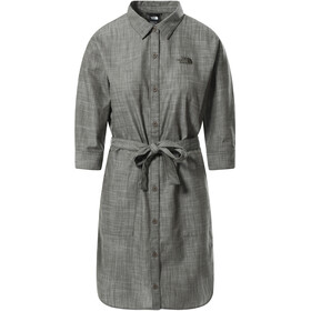The North Face Bernina Dress Women, new taupe green chambray